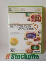 Xbox Live Arcade Unplugged Vol. 1 (Microsoft Xbox 360, 2006)