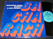 NOVI SINGERS & MAZUR QUARTET Bacharach / 70s Polish LP MUZA LP SX 1297