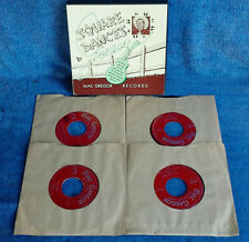 "FENTON  ""JONESY"" JONES - SQUARE DANCES - MAC GREGOR - (4) 45 RPM BOX SET"
