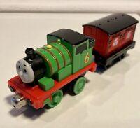 2011 Pull n Zoom Percy - Thomas & Friends Take N Play Along Diecast Train
