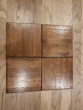 Oak Wood Parquet Flooring  12 x 12  square ..... 1 (one) square tile