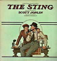 "THE STING Original Motion Picture Soundtrack Scott Joplin 12"" Vinyl LP Album KA"