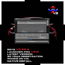 BMW E-SYS SOFTWARE CODING ESYS V3 NATIVE + LAUNCHER + PSDZ DATA