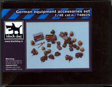 Blackdog Models 1/48 GERMAN EQUIPMENT SET Resin Detail Set