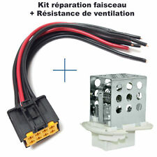 résistance de chauffage de renault Master 2 Movano = 7701057557 + Connectique
