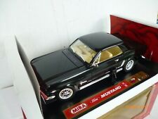 MIRA  FORD MUSTANG  VINTAGE  1965 COUPE  IN BLACK   1:18 NEW IN OVP