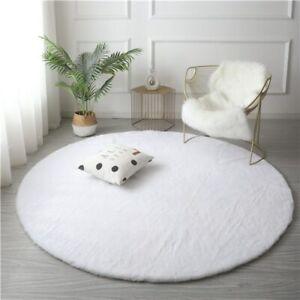 Faux Fur Plush Area Rug Plush Rug Non Slip Carpet Washable Floor Rug Room Carpet