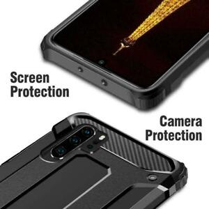 Hybrid Armor Shockproof Rugged Bumper Case For Samsung Galaxy S7 Edge S10 Note 9