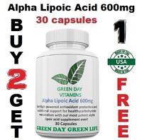 Alpha Lipoic Acid 600mg Metabolism Fresh!