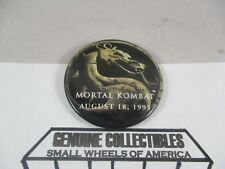 """Vintage"" MORTAL COMBAT August 18, 1995 The Movie's Opening Day MOVIE PIN"