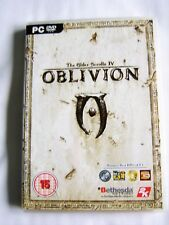 OBLIVION The Elder Scrolls IV for PC DVD With Map