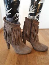 ce27a739cc897 Damenstiefel & -stiefeletten aus Wildleder Fransen günstig kaufen | eBay