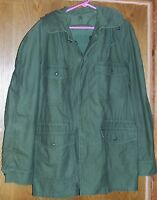 Size Large M1951 Cold Weather Coat GI Army Men's Green M65 L Jacket WWII Vietnam