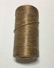 Dark Brown Artificial Sinew Spool, 30# Test, Approximately 550Ft/165Yrd