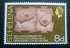 St Henena stamps - 30th Anniv. of Tristan da Cunha as Dependency 8d - FREE P&P