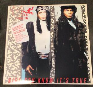 "Milli Vanilli  Girl You Know It's True 12"" Vinyl LP 1989 Arista AL-8592 US"