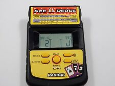 Radica Between Ace Duece Red Dog Poker Handheld Electronic Card Game