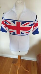 Genuine Assos Great Britain Cycling Jersey In A XL 20 Inch P2P