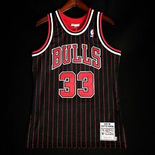 100% Authentic Mitchell & Ness Scottie Pippen Bulls Pinstripe Jersey Size 40 M