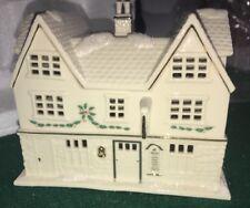Lenox Christmas Village ~ Tavern ~ Lighted Building ~ Brand New In Box