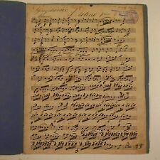 HAYDN symphony 13 , violin 1 part , antique music manuscript #3