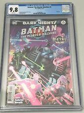 Batman: The Murder Machine 1 Dark Nights Metal Foil Cover CGC 9.8 Jason Fabok