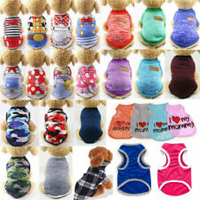Cute Camouflage Dog Clothes Vest For Small Dog Pet Puppy Spring Summer T Shirt*
