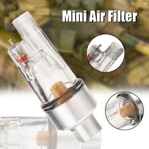 "1/8"" Hose Mini Air Filter Airbrush Moisture Water Trap Spray Pen Brush Tool Set"