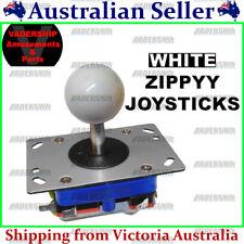 ZIPPYY Joystick – 2-4-8 WAY (Short Stick) (WHITE) ARCADE or MAME