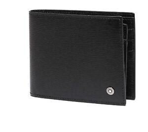 [MONT BLANC] Men's Leather Half Wallet 6cc 38036