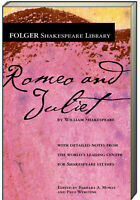 Folger Shakespeare Library Romeo and Juliet by William Shakespeare (Paperback)