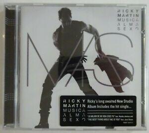 RICKY MARTIN : MUSICA + ALMA + SEXO ♦ CD ALBUM NEUF ♦