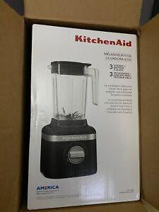 New KitchenAid KSB1325BM K150 Black Blender, 48 oz, Matte Black