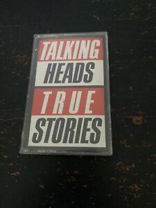 True Stories by Talking Heads Cassette 1985 Sire 4-25512 David Byrne