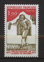 FRANCIA/FRANCE 1973 MNH SC.1381 Moliere,playwright and actor