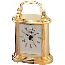 4517228803741 Seiko QHE109G Mantel Alarm Clock - Gold