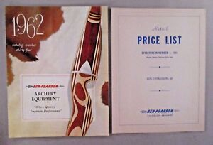 Ben Pearson Archery CATALOG - 1962 ~~ with Price List