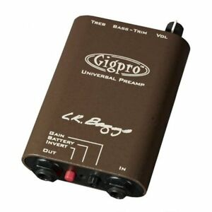 LR Baggs GigPro Belt-Clip Single channel Acoustic Preamp. gig pro