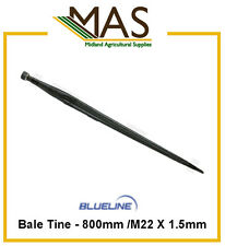 Bale Tine - 800mm/M22 x 1.5mm For Loader/Bale Spike