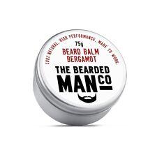 Beard Balm 75g Bergamot Conditioner Conditioning Grooming Male Moisturiser