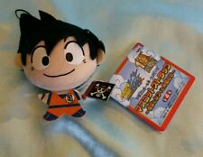 One Piece x Dragonball Z Plush Charm/Dangler- Goku w/ One Piece Pirates Flag