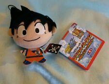 One Piece x Dragonball Z Plush Charm/Dangler- Goku w/ One Piece Pirates Flag