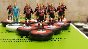 Flamengo Home 21/22 Subbuteo team Handpainted And Decals