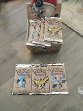 Pokemon Fossil Booster Unlimited Pack 1999, One Pack, new, sealed
