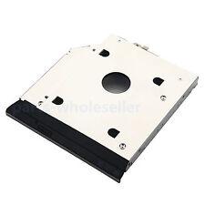 cornice metallica 2nd HDD SSD HD Caddy per HP EliteBook 8460P 8460W 8470P 8470W