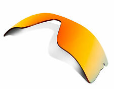 Polarized Replacement Lenses for Oakley Radar Range Sunglasses Anti-Scratch Red
