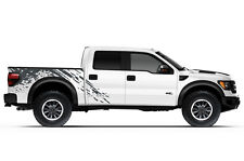 Vinyl Graphics Decal SPLASH Wrap Kit fits 2010-2014 Ford F-150 Raptor SVT Gray