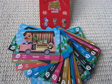 Animal Crossing New Leaf Cards! 01 - 50 Selectable - New,Without Orig. Packaging