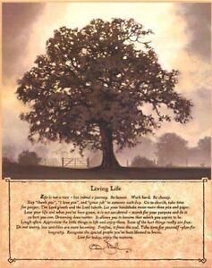 Living Life by Bonnie L. Mohr Print 12x16