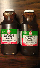 Halm's (Halms) Hawaiian BBQ Sauce 128 oz